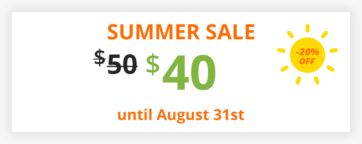 Filter Everything - WooCommerce Product Filter summer discount